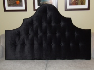 My last custom headboard