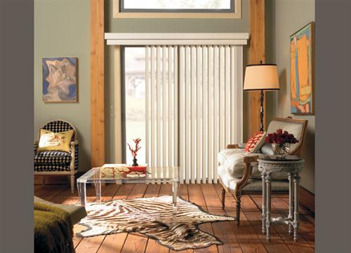 Candlelight-White-vertical-blinds-with-Stylish-looks-for-Big-Window-Levolor-Collection