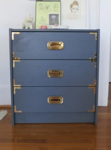 The detail added to these drawers give them a vintage vibe.