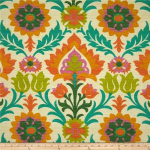 A different kind of floral pattern. Very art nuevo in style.